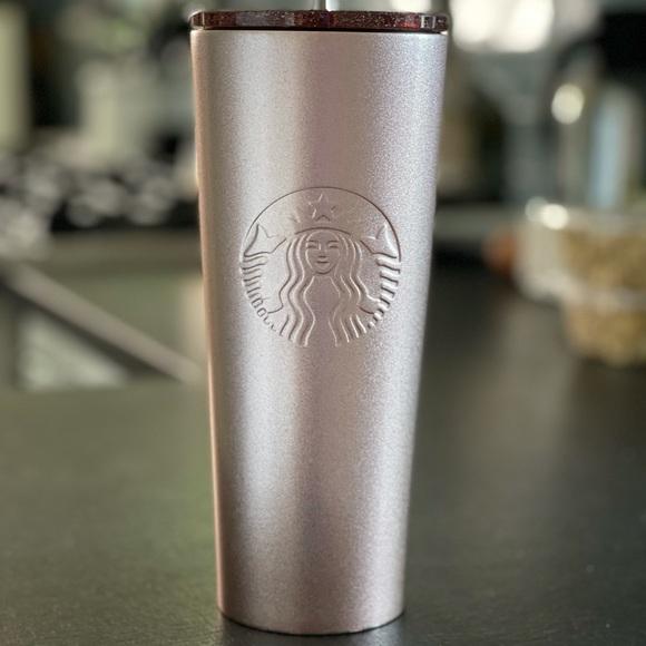 Starbucks rose gold tumbler